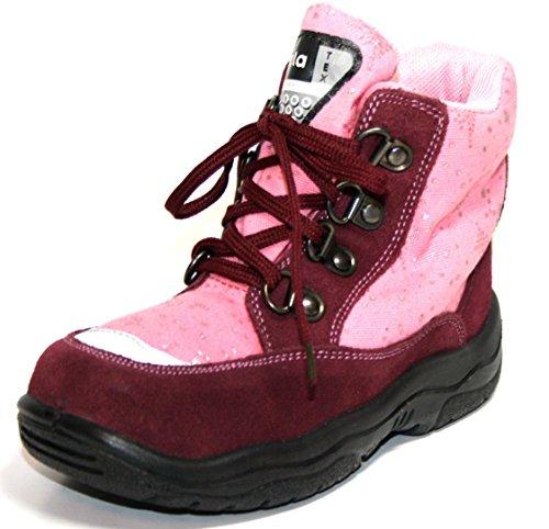 Jela , Bottes de Neige fille Purple/Berry/Rose