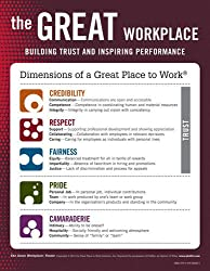 The Great Workplace Poster: Building Trust and Inspiring Performance