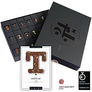 TEE-Adventskalender - mit 24 edlen Tee-Sorten - das ideale Geschenk für Genießer und Teeliebhaber