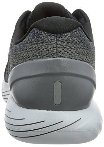 Nike Herren Lunarglide 9 Laufschuhe Grau (Anthracite/Black-Cool Grey-Total Crimson-Pure Platinum)
