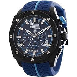 TechnoSport Unisex Chrono Uhr - Schwarz / Blau