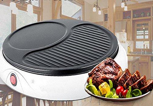 LINGHOU Camping barbecue portatile Charcoal Grill Argento Mini multifunzionali Forni
