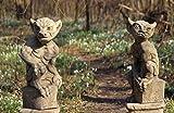 Yorrx Englische Steinfiguren Torwächterpaar Gargoyles Hank + Perky