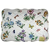 Lenox-Butterfly-Meadow-Quilt,-Pack-of-4-Placemats,-Ivory