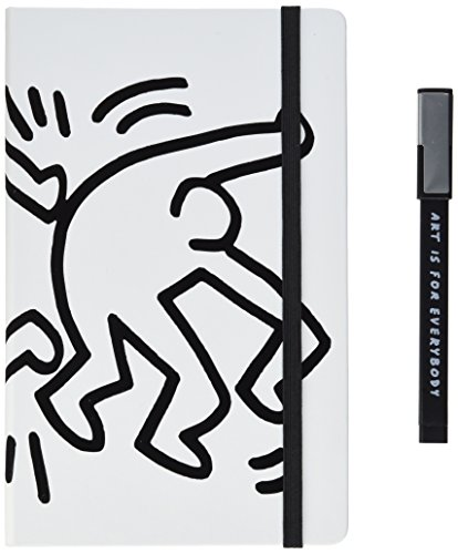 moleskine-keith-haring-limited-edition-collectors-edition-large-ruled-hard-bundle-notebook-and-pen