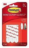 Command Mounting Refill Strips - Medium, White, 9Strips