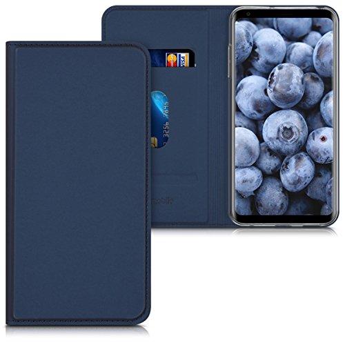 kwmobile LG V30 / V30S / V30+ / V30S+ Hülle - Flip Handy Schutzhülle - Cover Case Handyhülle für LG V30 / V30S / V30+ / V30S+