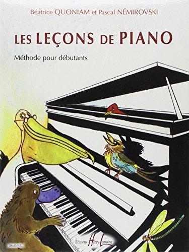 Les Leçons de piano par Béatrice Quoniam