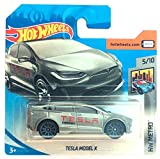 Hot Wheels FJW84 – Tesla Model X Tesla Energy Grau Metallic (HW Metro 5/10)