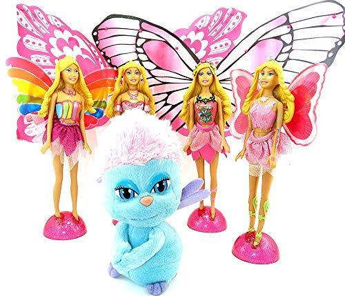 Kinder Überraschung Sorpresa per Bambini, Set Barbie Fairytopia dal XXL Uovo di Ferrero con Allen BPZ (Gigante Maxi)