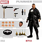 Mezco Toys One:12 Collective Netflix Marvel Punsiher 1/12 Scale Action Figure