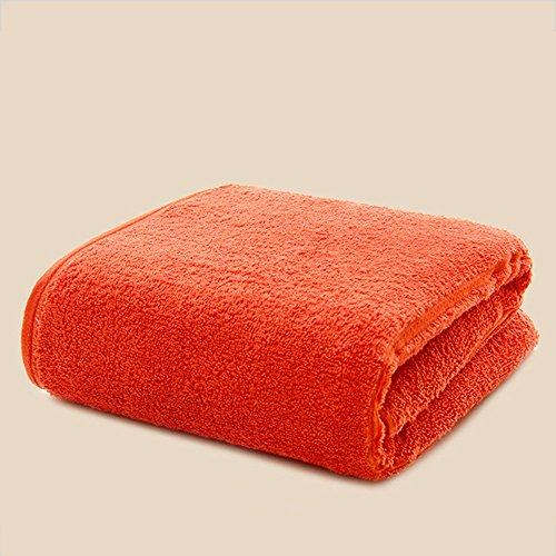 Morbido cotone asciugamani telo mare ( Colore : Grigio ) Arancia