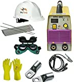 TOOLSCENTRE Compact Dynamic 200Amp Welding Inverter Machine-Arc 200 with Free Safety Equipments