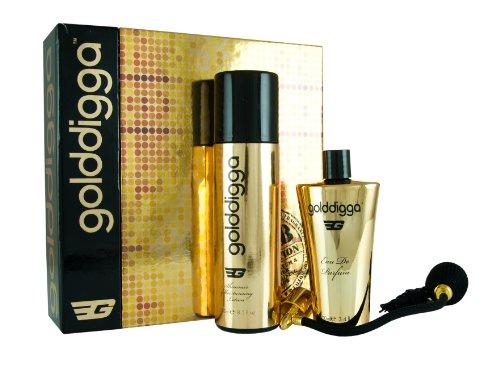Golddigga 100 ml Eau de Parfum + 250 ml Körperlotion Geschenkset für Sie, 1er Pack (1 x 350 ml)