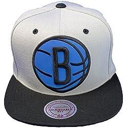Gorra Mitchell & Ness: NBA Brooklyn Nets GR/BK