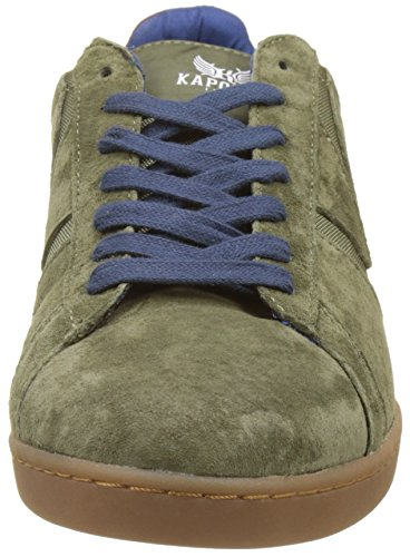 Kaporal Kaiser, Baskets Basses Homme Vert (Kaki)