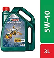 Castrol MAGNATEC SUV 5W-40 Full Synthetic Engine Oil for Petrol, CNG and Diesel SUVs (3L)