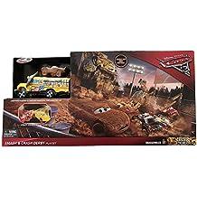 Disney Mattel DXY95 Cars 3 Crazy 8 Crashers Smash and Crash Derby Playset (60 x 80 cm)