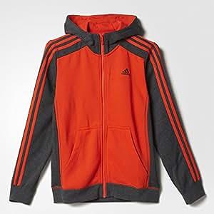 adidas Essentials 3 Stripes Trainingskapuzenjacke Kinder 152