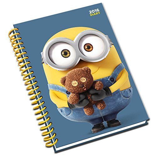 (The Official Minion Movie (A5) 2016 Diary)