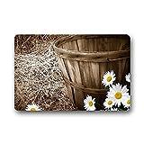 Violetpos Fußmatte 40 x 60 cm Daisy Gate Pad Fussmatte Home Innen & Außen Schmutzmatte Mat