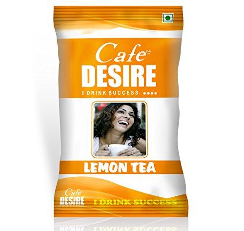 Certified Cafe Desire Instant Tea Premix (Lemon Tea) - 1...