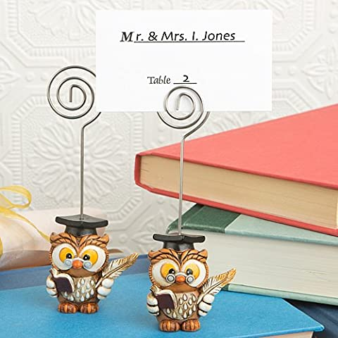 Wise Graduation Owl Place Card
