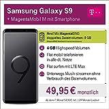 Samsung Galaxy S9 mit 64 GB internem Speicher mit Telekom Magenta M inkl. Telefon-und SMS Flat in Alle dt. Netze, 4GB Datenvolumen mit bis zu 300 Mbit/s, 24 Monate Laufzeit mtl.