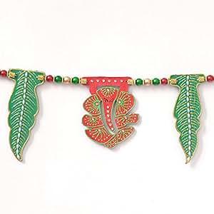 Handmade Gujarati Rajasthani Style Mango Asoplav Toran Door Hanging