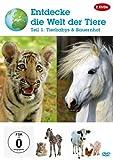 DVD Cover 'Entdecke die Welt der Tiere - Teil 1 - Tierbabys & Bauernhof [2 DVDs]