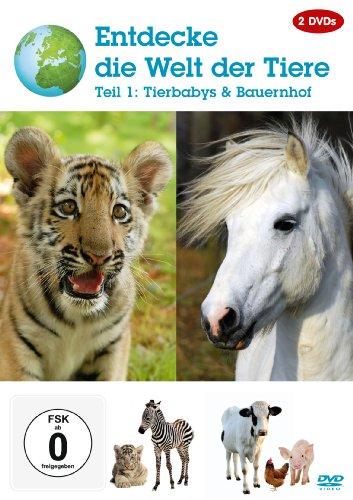 Entdecke die Welt der Tiere - Teil 1 - Tierbabys & Bauernhof [2 DVDs]