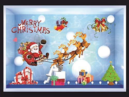 Heekpek Deko Farbiger Papá Noel Alce Navidad Navidad