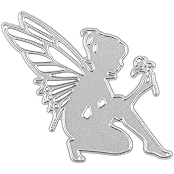 Dangle Charms Die Set Summer Vintage Fairy Greeting Cards Card Making Template Auflegern 2.7/cm x 6,7/cm/ Spring /Suitable for most Die Cutting Machines