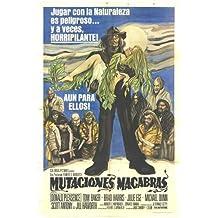 Las mutaciones Póster de película español 11x 17en–28cm x 44cm Donald Pleasence Tom Baker Brad Harris Julie Ege Michael Dunn