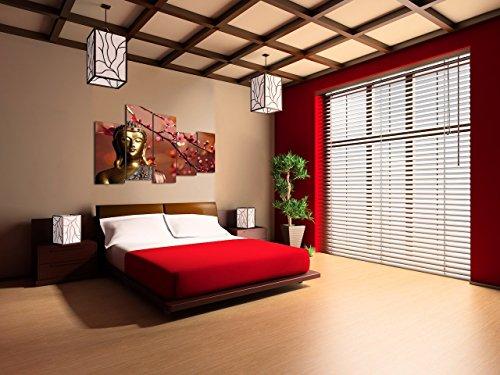 DekoArte - Cuadro moderno en lienzo Buda zen 150x100cm 7