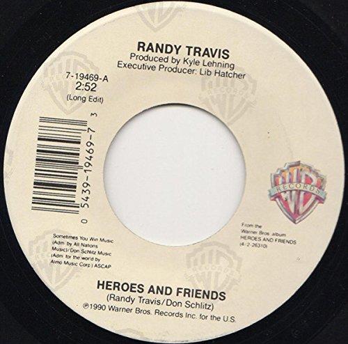 Heroes And Friends [Vinyl Single 7''] (Randy Travis-vinyl-records)