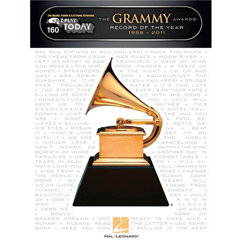 The Grammy Awards Record Of The Year 1958-2011. Sheet Music for Piano, Organ, Keyboard, Electric Piano