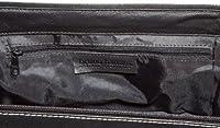 Bruno Banani wash_bag_1 - Bolso de cuero unisex, color negro, talla 28x12x14 cm (B x H x T)
