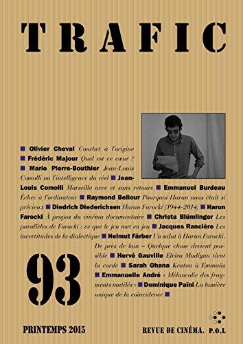 Trafic n° 93 (Printemps 2015) (REVUE TRAFIC) par Collectifs