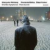 Chamber symphonies. Piano Quintet / Mieczyslav Weinberg, comp.   Weinberg Mieczyslaw. Compositeur