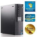 Pc Computer Desktop Fisso Con Windows 7 Pro Installato ,LIicenza Coa Seriale Etichetta,Dell 980 Sff QUAD CORE i5-650 RAM 4GB HARD DISK 250GB