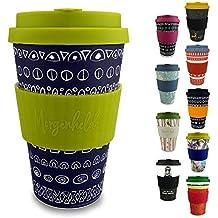 Morgenheld ☀ Vaso de bambú moderno | vaso para llevar ecológico | vaso para café sostenible