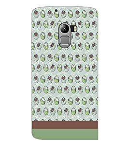 PrintDhaba Owl pattern D-1836 Back Case Cover for LENOVO K4 NOTE A7010a48 (Multi-Coloured)