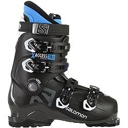 Salomon X-Access 70Wide Botas de esquí, 17/18, color BLACK / INDIGO BLUE, tamaño 28,5