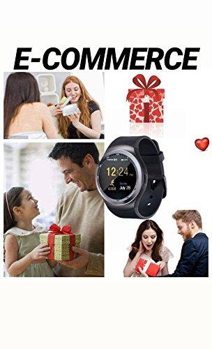 Zoom IMG-2 smart watch bluetooth smartwatch round