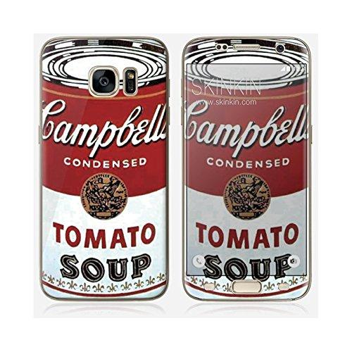 iPhone 6 Case, Cover, Guscio Protettivo - Original Design : Campbells Soup Can da Andy Warhol Samsung Galaxy S7 Edge skin