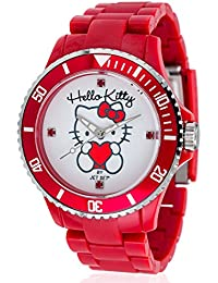 Hello Kitty Mädchen-Armbanduhr Kids JHK1004-22 Analog Quarz