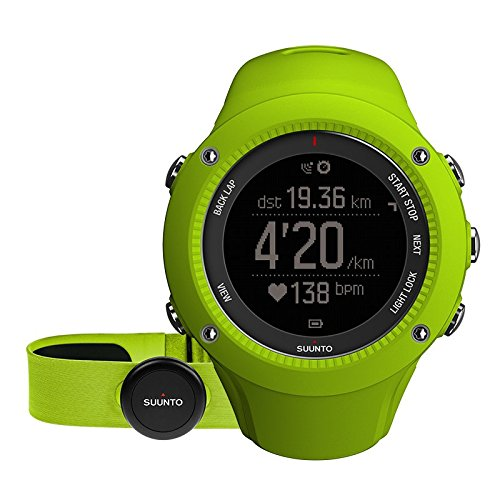 SUUNTO Ambit 3 Run with HRM Lime Lime One Size