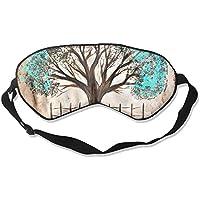 Eye Mask Eyeshade Autumn Tree Oil Painting Sleeping Mask Blindfold Eyepatch Adjustable Head Strap preisvergleich bei billige-tabletten.eu