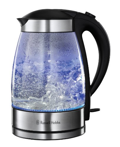 Russell Hobbs 15082-10 Illuminating Glass Kettle - Clear